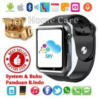 U10 / A1 Smart Watch Jam Tangan iWatch Full Colour Handphone Touch Scr