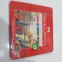 Faber Castell 24 Classic Colour Pencils (Edisi Kaleng Besi)