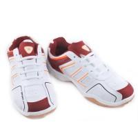 Sepatu Running Casual Sport TREKKERS Pria TB-Blokkers Putih/Merah Bata