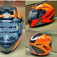 ZEUS 811 orange black AL6 orange stabilo helm fullface AGV NOLAN