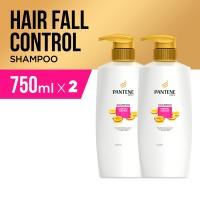 Pantene Sampo Hairfall Control 750ml Paket isi 2