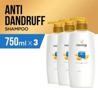 Pantene Sampo Anti Dandruff 750ml Paket isi 3