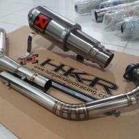 Knalpot Akrapovic Gp M1 Lorenzo Titan Suzuki GSX R150