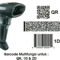 Jual Scanner eFaktur Barcode 1D 2D QR CODE. Murah