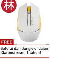 James Donkey 102 1600DPI 6D Wireless Optical Mouse white