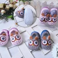 PW78 - prewalker owl burung hantu baby shoes sepatu anak bayi baby