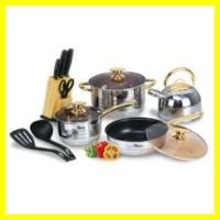 Jual Oxone OX-777 Rosegold Cookware Set Panci BERKUALITAS Murah