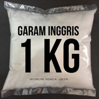 Garam Inggris Foodgrade / MgSO4 / Epsom Salt / Magnesium Sulfat 1 Kg