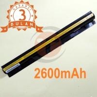 Baterai Lenovo IdeaPad G510S G400s G40-30 L12S4E01 (4 CELL) OEM Black
