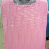 Koper Murah Sedang Fiber Polo Hardcase Kain Fabrik Dupont 4 Roda