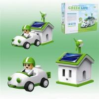Jual PROMO IA029 SOLAR ROBOT GREEN LIFE EDUKASI MERAKIT ROBOT TENAGA MATA Murah
