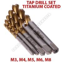 harga Tap Drill Set Isi 5 Titanium Coated/ Mata Bor Pembuat Ulir Baut 5pcs Tokopedia.com