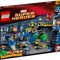 LEGO 76018 Marvel Super Heroes Avengers: Hulk Lab Smash