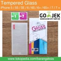 Jual Tempered Glass iPhone 5 5S 6 6+ 6 PLUS 7 7+ 7 PLUS / ANTI GORES iPhone Murah