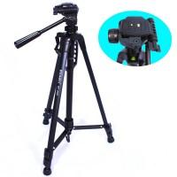Somita Tripod Wt-3520 For Canon/Nikon/Fujifilm Dslr - Hitam - Free Tas