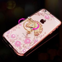 FLOWER case Iphone 5 5s SE 6 6s 7+ plus soft TPU casing HP FREE IRING!