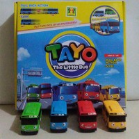 bus Tayo the little bus isi 4 pullback - kado mainan anak best seller
