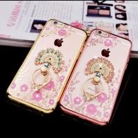 FREE IRING! FLOWER case Iphone 5 5s SE 6 6s 7+ plus soft TPU casing HP