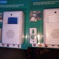 harga Bel Pintu Alarm Anti Maling Sensor Gerak Canggih Mantap Tokopedia.com