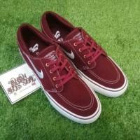 Sepatu NIKE Air Zoom Stefan Janoski Maroon Premium High Quality