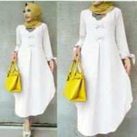 Jual baju wanita muslim muslimah tunik atasan blouse murah bagus xsz29 Murah