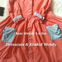 Baju Muslim Anak Wendy 3-4 thn, Dresscute dan Krukid Bani Batuta