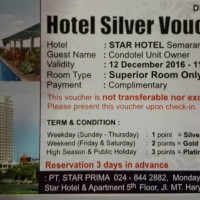 Voucher Star Hotel Semarang SALE!!! Limited Voucher!