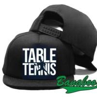 TOPI SNAPBACK TABLE TENNIS PING PONG BK - BANABOO