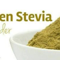 Jual Bubuk/Serbuk Stevia Pemanis Alami pengganti gula Sweetener Powder D'He Murah