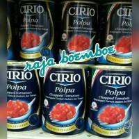 CIRIO POLPA CHOPPED TOMATOES POTONGAN TOMAT