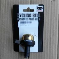 Cateye Wind Bell Pb - 1000. Cat Eye Cycling Bell. Bel Sepeda Cat Eye