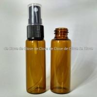 Spray Bottle (Botol Semprot/Spray) Kaca Amber 20 ml