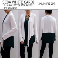 Cardigan Branded Wanita - STYLE & CO 04 WHITE CARDI