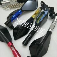 Spion Tomok Variasi Motor Fu / Cb150 / Cbr 150 / Vixion / Mx King Mio