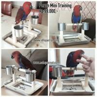 Perch Tangkringan Mini Training untuk burung Parkit Falk Lovebird Nuri