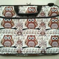 Jual Tas laptop / Softcase laptop Brown Owl 14