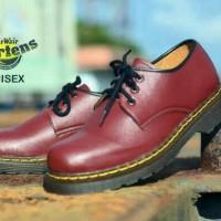 Sepatu Dokmar Pria Docmar Dr. Martens Low boot / Bonus Free kaos kaki