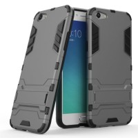 Hard Soft Case Casing HP Oppo F3 Plus Armor Stand Silikon Hardcase TPU