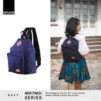 Jual Ori  Tas Ransel Backpack Mini Wanita - Rayleigh New Finch Navy Murah