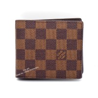 DOMPET PRIA KULIT ASLI IMPORT MURAH |LOUIS VUITTON DAMIER N60223 BROWN