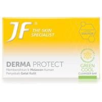 (Sabun Sulfur) JF Cleanser Bar Derma Protect Green Cool 90 gr