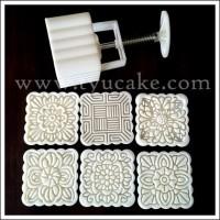 7X7cm-BIG-SQUARE-Mooncake Mold Putih