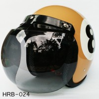 Jual Helm Retro Capucino 8 Limited Edition Murah