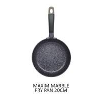Maxim Marble Wajan Teflon 20cm Anti Lengket