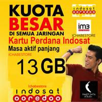 harga Kartu Perdana Indosat Internet Data 13gb ( 9gb Reguler + 4gb Mid ) Tokopedia.com