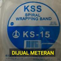 Selang Pembungkus kabel spiral KS 15 / KSS Spiral Wrapping Band KS 15