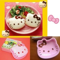 Cetakan Roti Hello Kitty Pink Bread Sandwich Mold Bekal anak