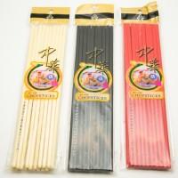 Sumpit/Chopstick Melamine/Melamin/Mie 24CM 10 Pasang Grosir