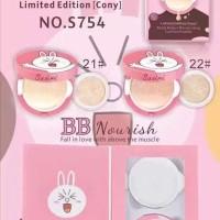 Jual CONY CUSHION - Bedak SPF 30+PA+++ Sasimi BB Nourish Line Pink + Refill Murah