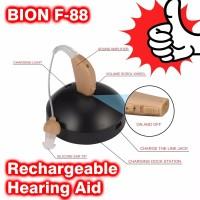 Alat Bantu Dengar BION F88 Rechargeable -Alat Bantu Dengar bisa di cas